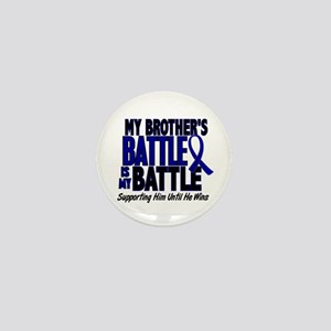 My Battle Too 1 BLUE (Brother) Mini Button
