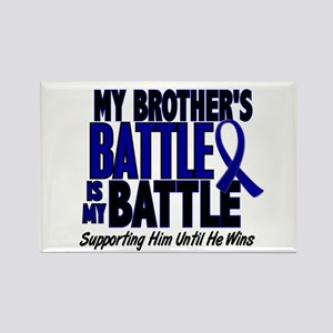 My Battle Too 1 BLUE (Brother) Rectangle Magnet