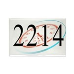 2214 Logo Magnets