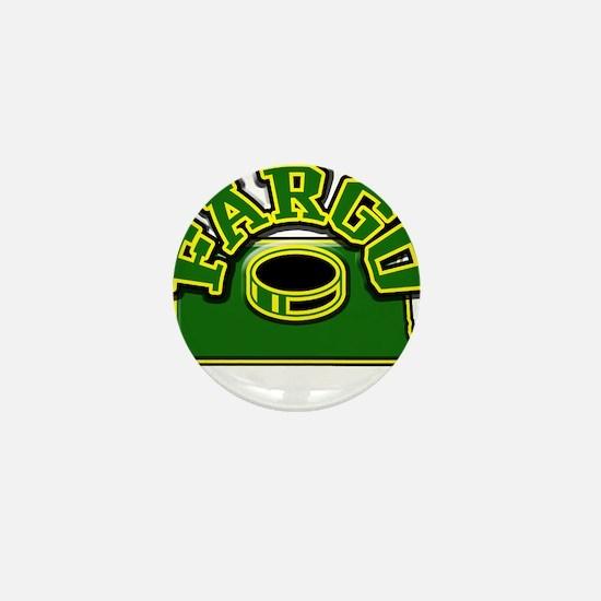 Fargo Hockey Mini Button