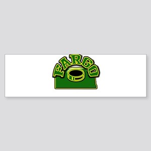 Fargo Hockey Bumper Sticker