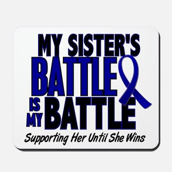 My Battle Too 1 BLUE (Sister) Mousepad