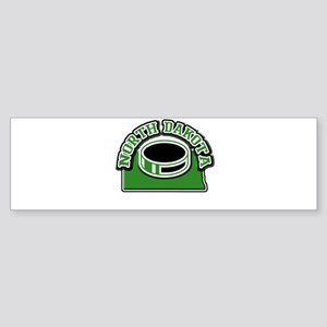 North Dakota Hockey Bumper Sticker