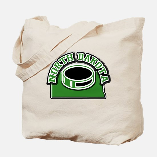 North Dakota Hockey Tote Bag