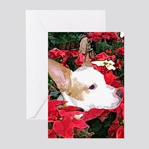 Jack Russell Parsons Terrier Christmas Greeting Ca