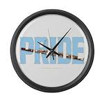 Bassoon Pride Large Wall Clock