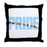 Bassoon Pride Throw Pillow