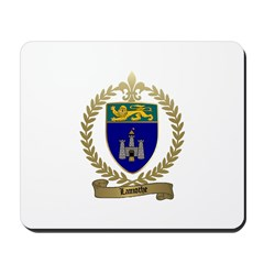 LAMOTHE Family Crest Mousepad