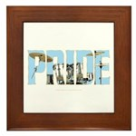 Drums PRIDE Framed Tile