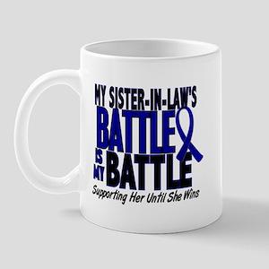 My Battle Too 1 BLUE (Sister-In-Law) Mug