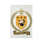LAMONTAGNE Family Crest Rectangle Magnet (10 pack)