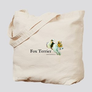 Flying Fox Terrier Tote Bag