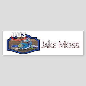 Jake Moss Photo Bumper Sticker