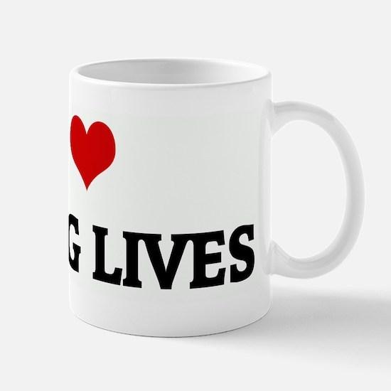 I Love SAVING LIVES Mug