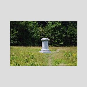 126th Ohio Monument Rectangle Magnet