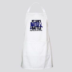 My Battle Too 1 BLUE (Son) BBQ Apron