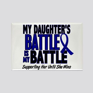 My Battle Too 1 BLUE (Daughter) Rectangle Magnet