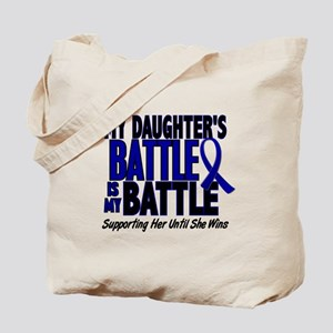 My Battle Too 1 BLUE (Daughter) Tote Bag