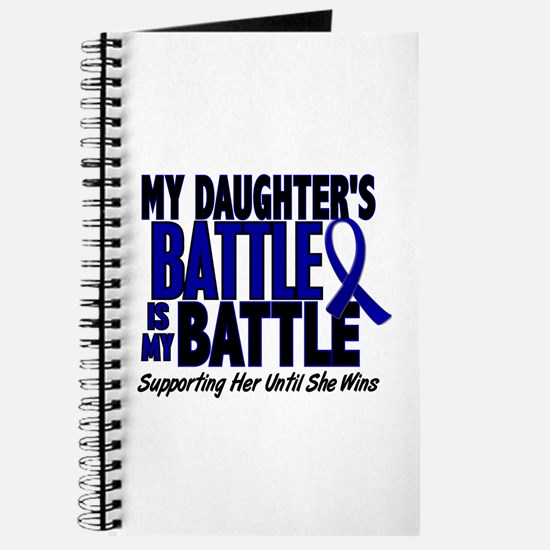 My Battle Too 1 BLUE (Daughter) Journal