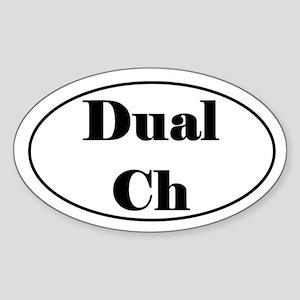 Dual Champion Sticker