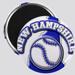 New Hampshire Baseball Magnet