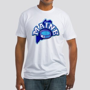 Maine Hockey Fitted T-Shirt