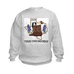 Youth Texas Cavy Round Up Sweatshirt