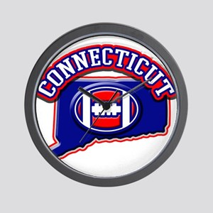 Connecticut Football Wall Clock