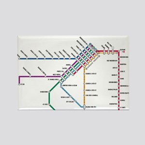 Muni San Francisco Map Home & Decor - CafePress