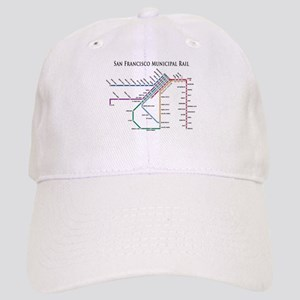 SF MUNI Map (with text) Cap