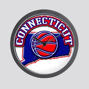 Connecticut Basketball Wall Clock