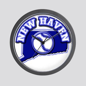 New Haven Baseball Wall Clock