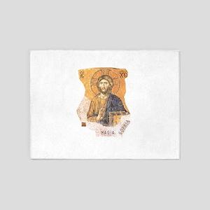 Jesus Christ Hagia Sophia 5'x7'Area Rug