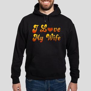 I Love My Wife Hoodie (dark)