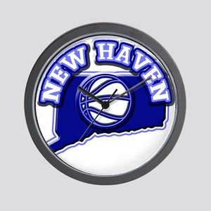 New Haven Basketball Wall Clock