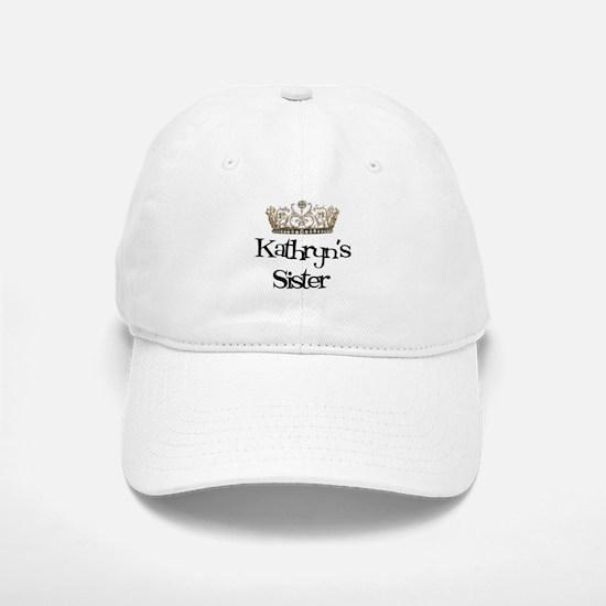 Kathryn's Sister Baseball Baseball Cap