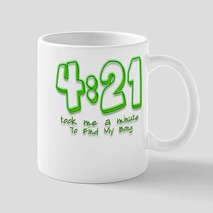 4:21 Funny Lost Bong Pot Desi Mug