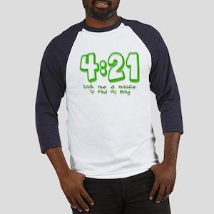 4:21 Funny Lost Bong Pot Desi Baseball Jersey