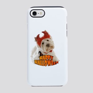 Happy Halloween with White D iPhone 8/7 Tough Case