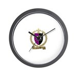 LAGRANGE Family Crest Wall Clock