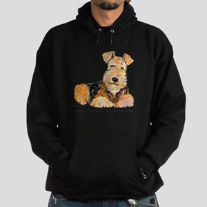Airedale Happiness Hoodie (dark)