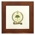 LAFOREST Family Crest Framed Tile