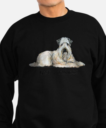 Wheaten Terriers Cookie Dogs Sweatshirt (dark)