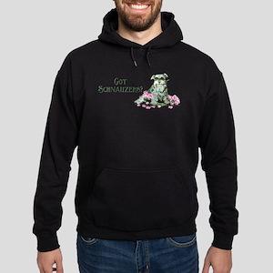 Got Schnauzers Dog Art Hoodie (dark)