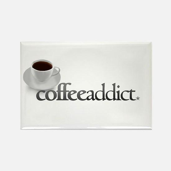 Coffee Addict Rectangle Magnet
