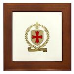 LACROIX Family Crest Framed Tile