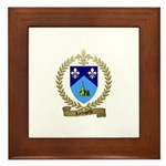 LACHAPELLE Family Crest Framed Tile