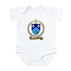 LACHAPELLE Family Crest Infant Creeper