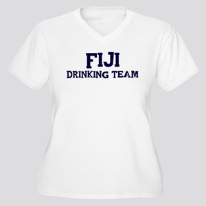 Fiji drinking team Women's Plus Size V-Neck T-Shir