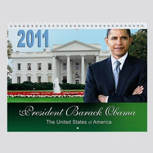 Barack Obama 2011 Wall Calendar
